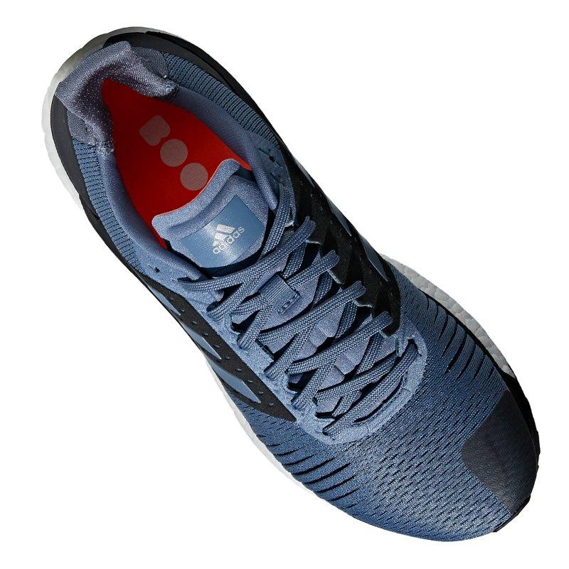 low priced f65fe fd4ea ... adidas Solar Glide ST Running Grau Blau - blau ...