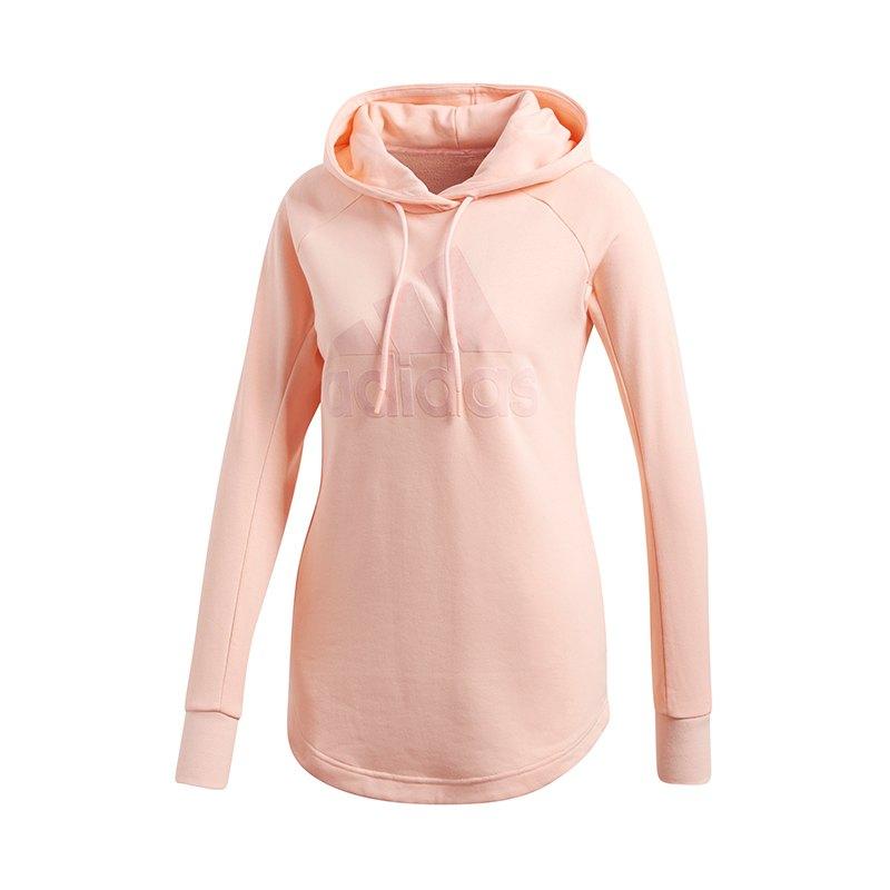 brand new 8c490 f82cf adidas Sport ID Overhead Sweatshirt Damen Rosa