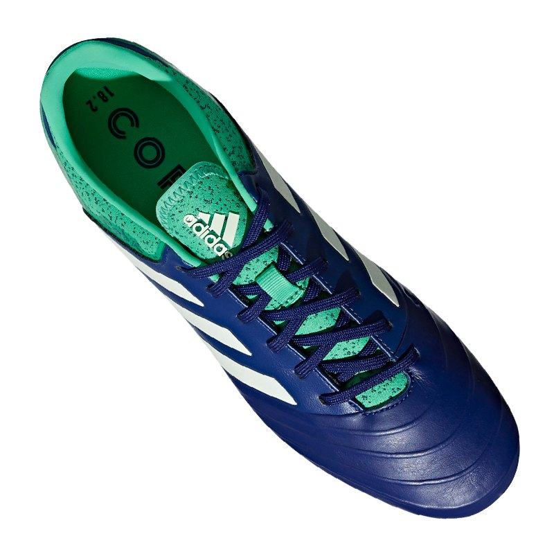 47e1edc293e ... adidas COPA 18.2 FG Blau Grün