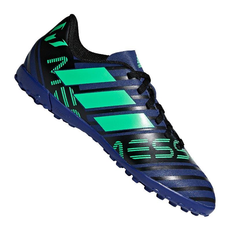 7a8044376455 adidas NEMEZIZ Messi Tango 17.4 TF J Kids Blau