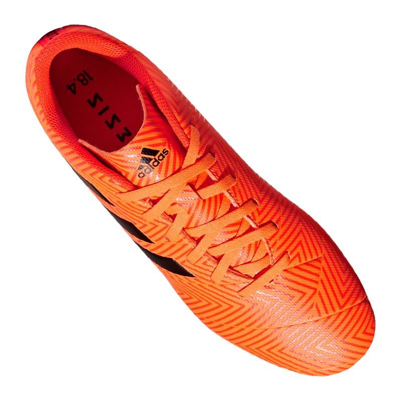 promo code 86cc2 4633c ... adidas NEMEZIZ 18.4 FxG Orange Schwarz  - orange ...