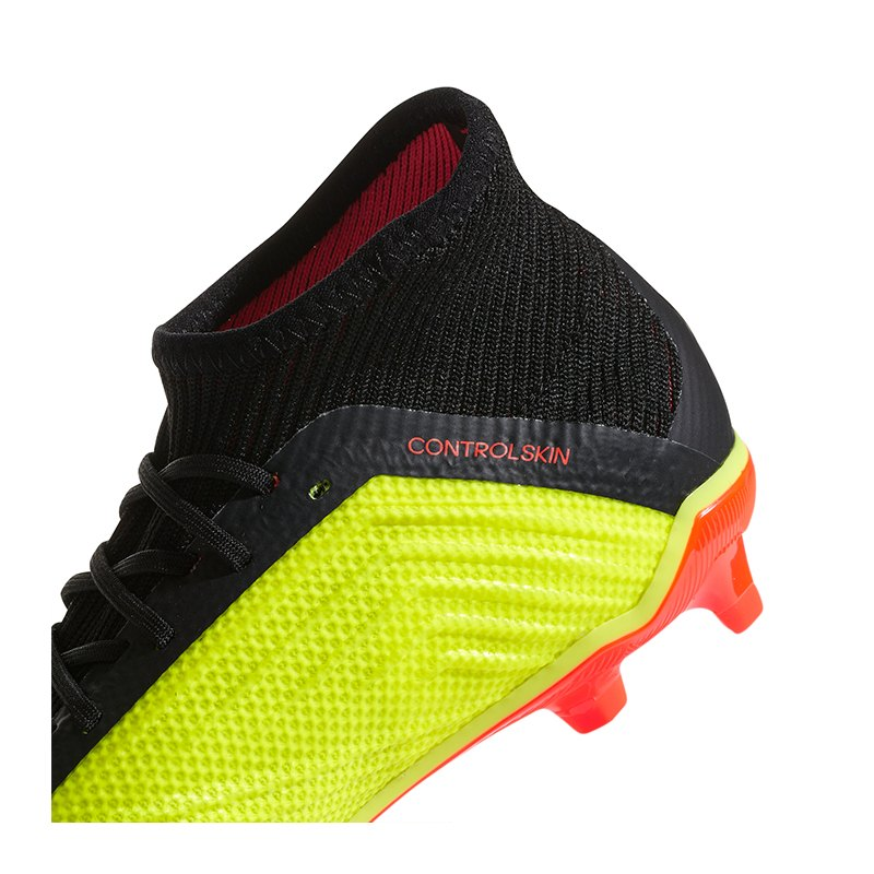 adidas Predator 18.1 FG J Kids Schwarz Rot
