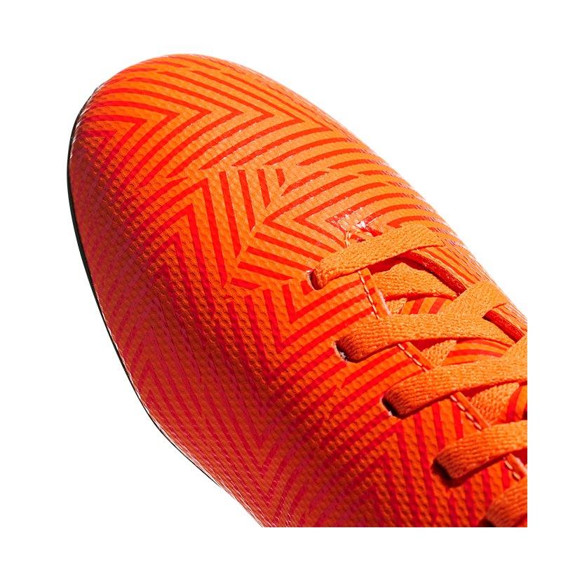 separation shoes eeb05 71abe ... adidas NEMEZIZ 18.4 FxG J Kids Orange Schwarz - orange ...