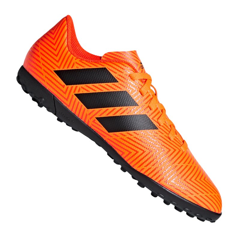 dd0c024e2587 adidas NEMEZIZ Tango 18.4 TF J Kids Orange Schwarz - orange