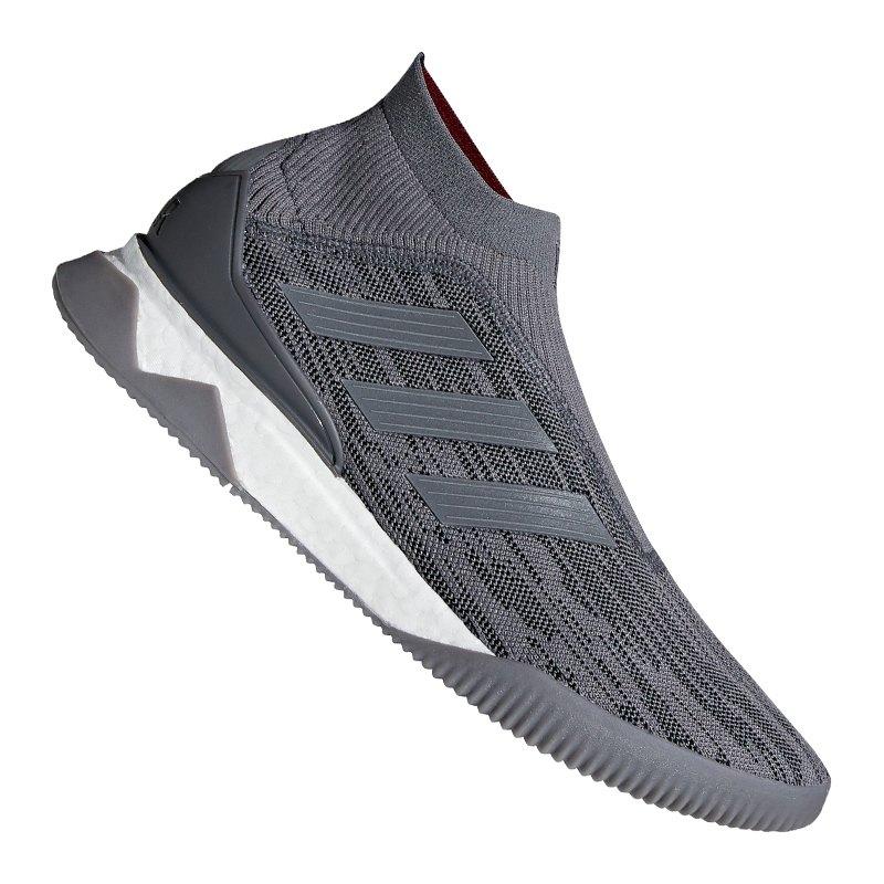 Adidas Predator 18 Tr Pogba Grau