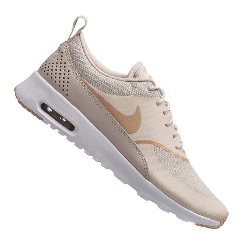 nike air max thea sneaker damen beige weiss f033. Black Bedroom Furniture Sets. Home Design Ideas