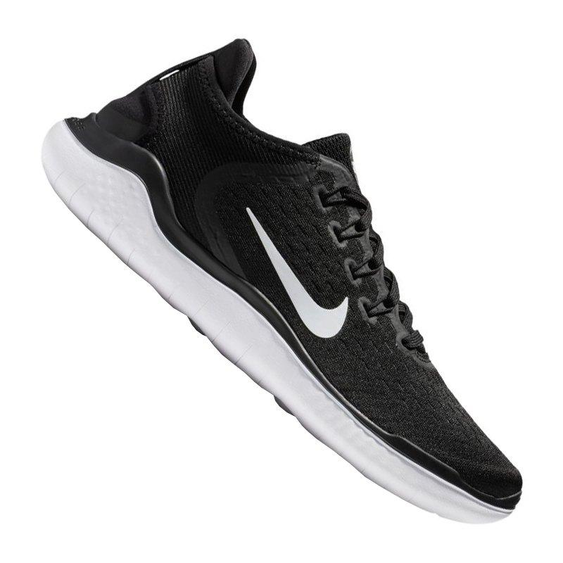 lowest price 8d4a3 1e284 Nike Free RN 2018 Running Damen Schwarz Weiss F001 - schwarz