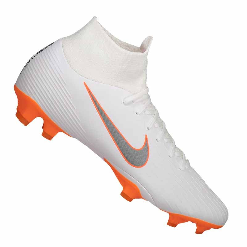 Nike Mercurial Superfly VI Pro FG Weiss F107 | - weiss