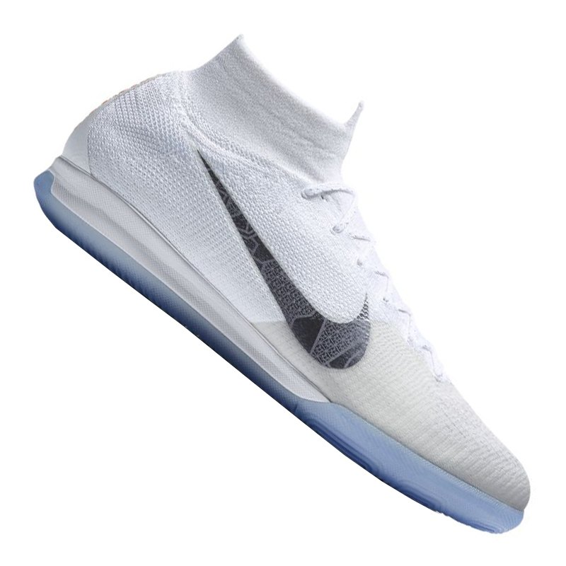 new products baf9e e8508 netherlands nike mercurial superflyx vi elite ic weiss f107 ...
