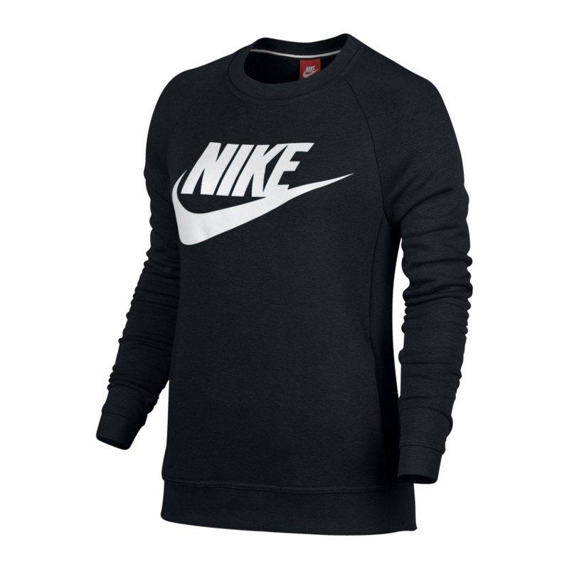 reputable site 0eeb7 fa28e Nike Modern Crew Sweatshirt Damen Schwarz F010