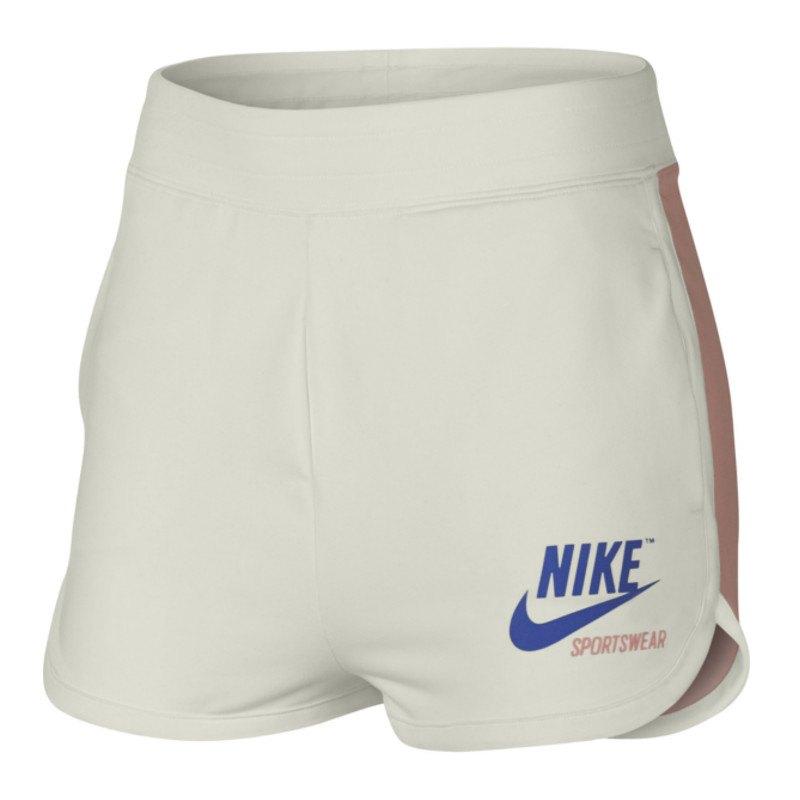 d48442d54c Nike Archive Short Hose kurz Damen Weiss Rosa F133 | Kult | Outfit ...