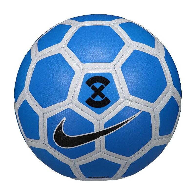 Nike Football X Menor Fussball Blau F406