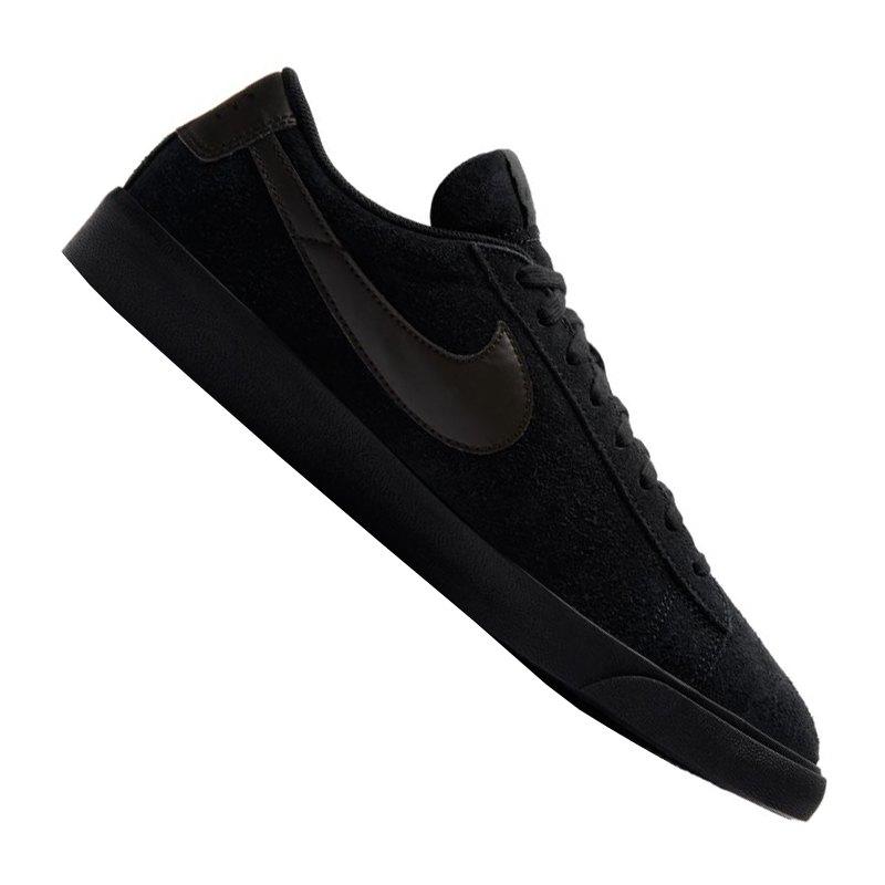 nike blazer low leather sneaker schwarz f001 shoe. Black Bedroom Furniture Sets. Home Design Ideas