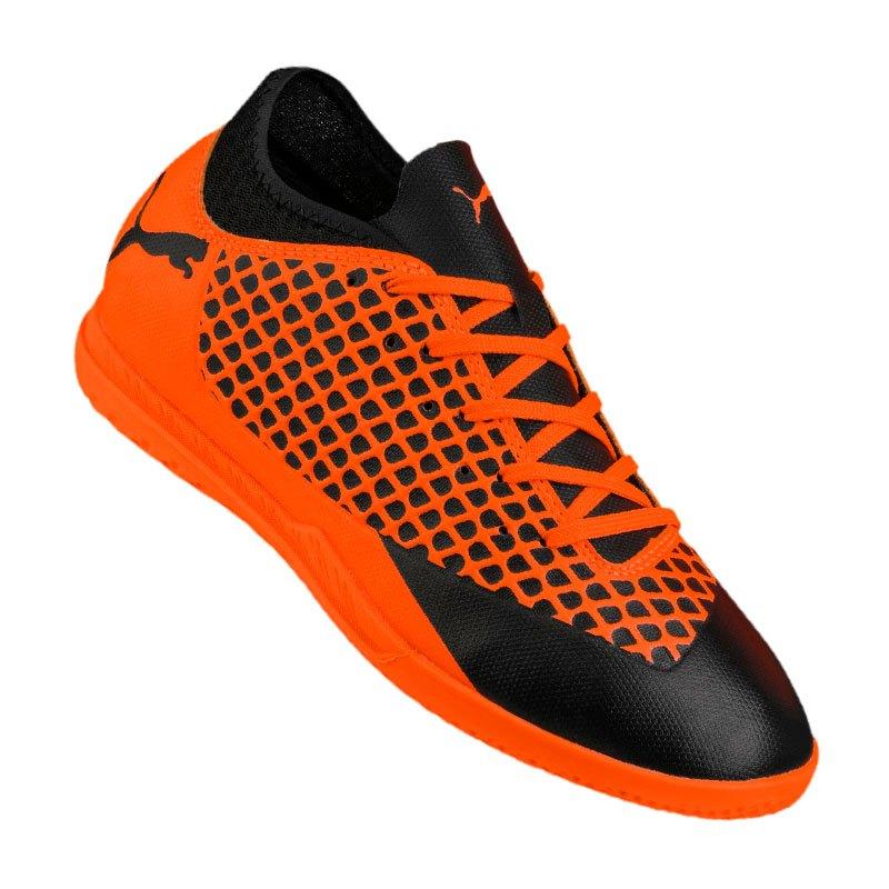 Puma FUTURE 2.4 IT Halle Kids Orange F02