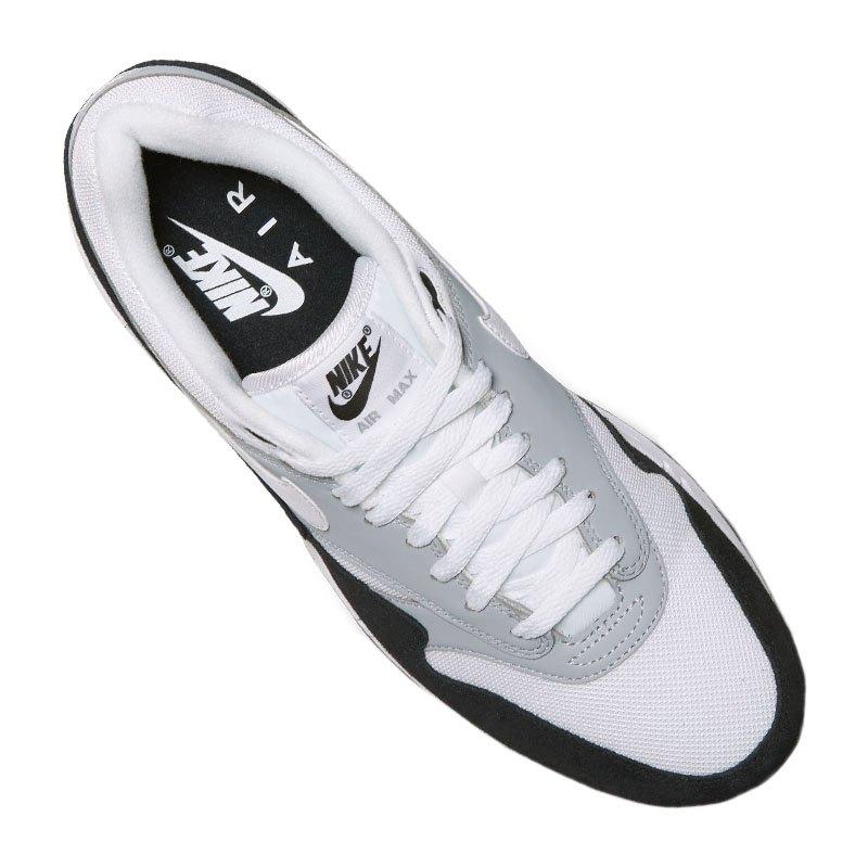 Nike Air Max 1 Sneaker Grau Weiss F003   Strassenschuhe   Lifestyle ... ecf2d30150