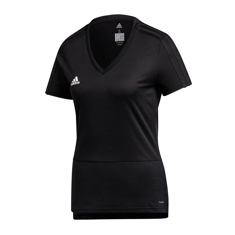 adidas Condivo 18 Trainigsshirt Damen Schwarz | - schwarz