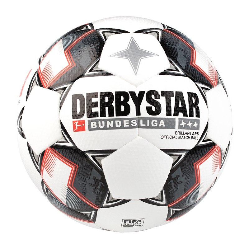 Derbystar BL Brilliant APS Fussball Weiss F123 | - weiss