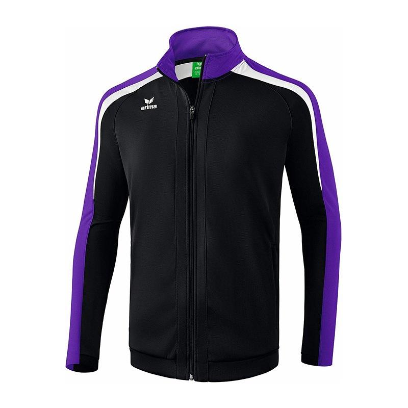 Erima Liga 2.0 Trainingsjacke Schwarz Lila