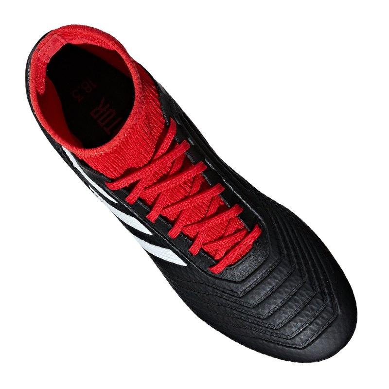 adidas predator 18.3 ag schwarz rot