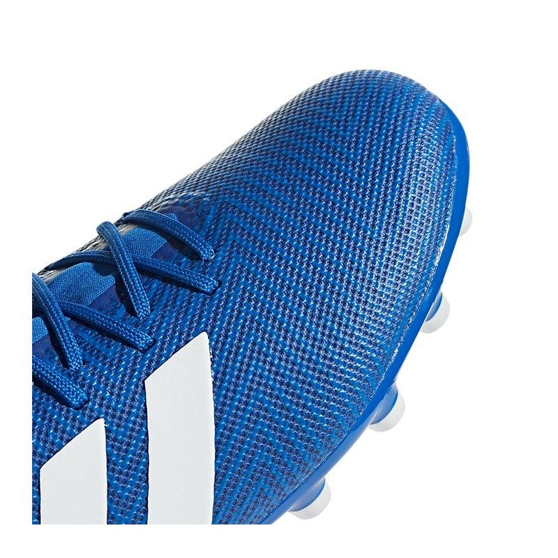dd7add394 adidas NEMEZIZ 18.3 AG Blau Weiss | Football | Artificial | Ground ...