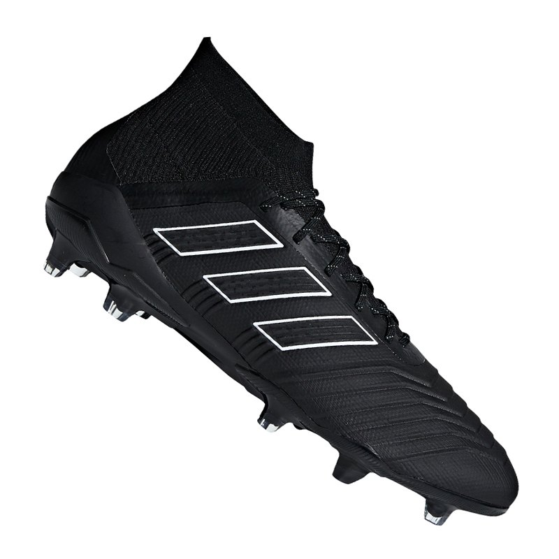 adidas Predator 18.1 FG Schwarz - schwarz