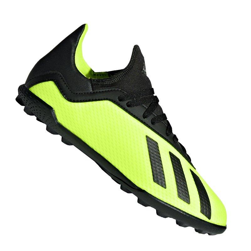 Marcar Oculto Pef  adidas X Tango 18.3 TF J Kids Gelb Schwarz | Multinocken | Turf ...
