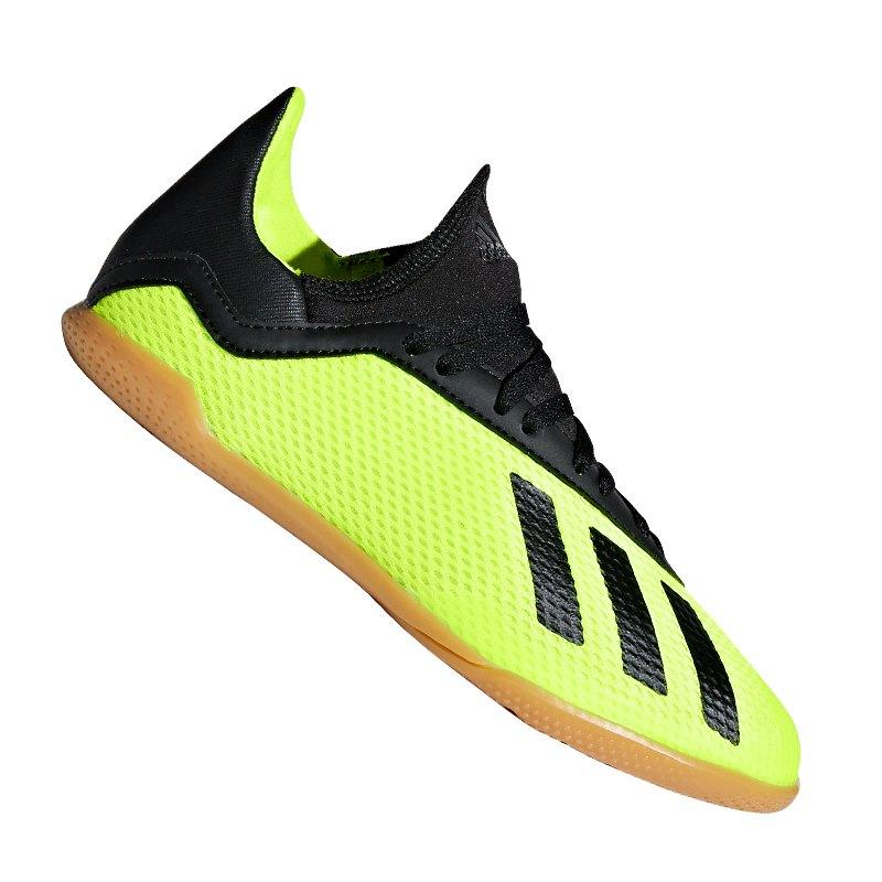 adidas X Tango 18.3 IN Kids Gelb Schwarz Gelb - Gelb