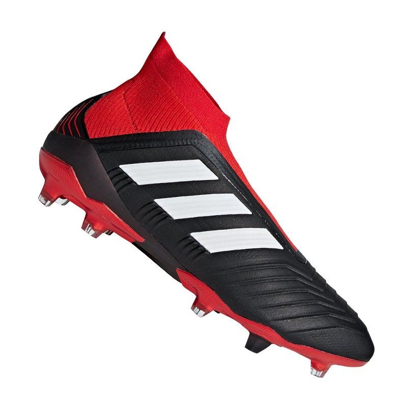 adidas Predator Tango 18+ FG Schwarz Rot - schwarz