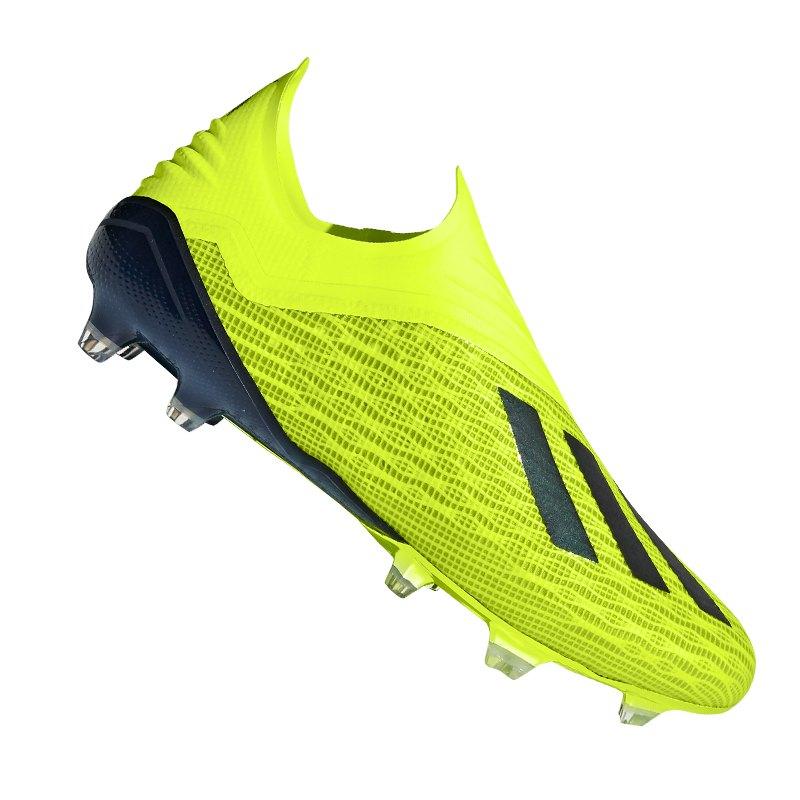 adidas X 18+ FG Gelb Weiss Schwarz - gelb