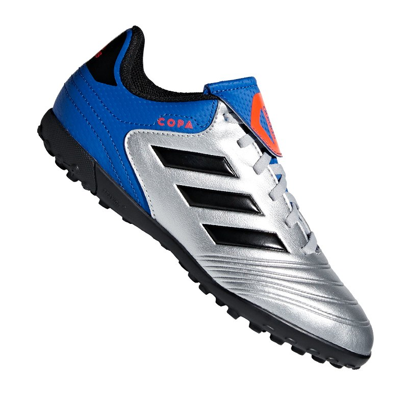 super popular 89474 42dc6 adidas copa tango 18.4 tf j silvmtcblackfooblu - silber