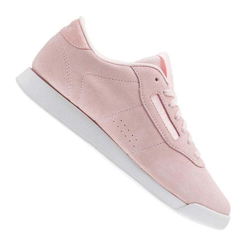 Reebok Princess LTHR Sneaker Damen Rosa