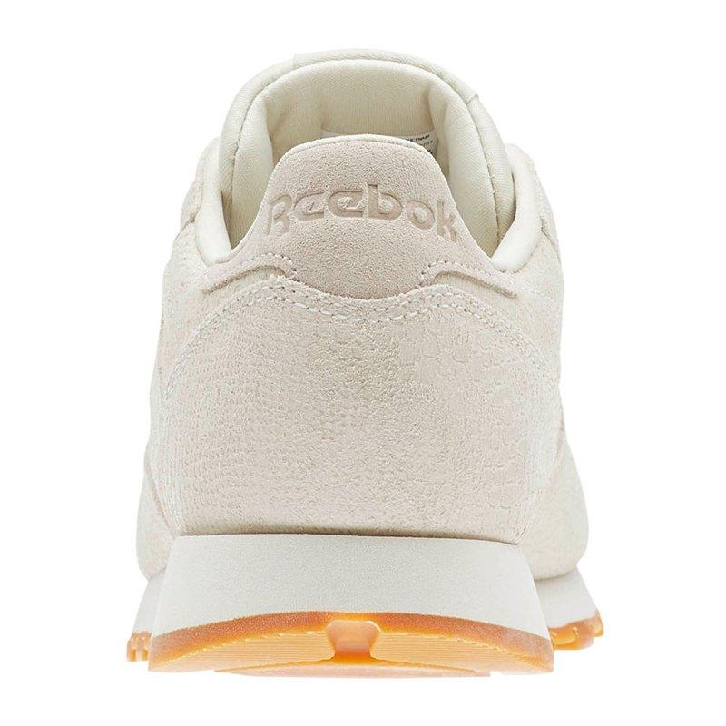 Reebok Leather Damen Beige Classic Sneaker c5jqL34AR