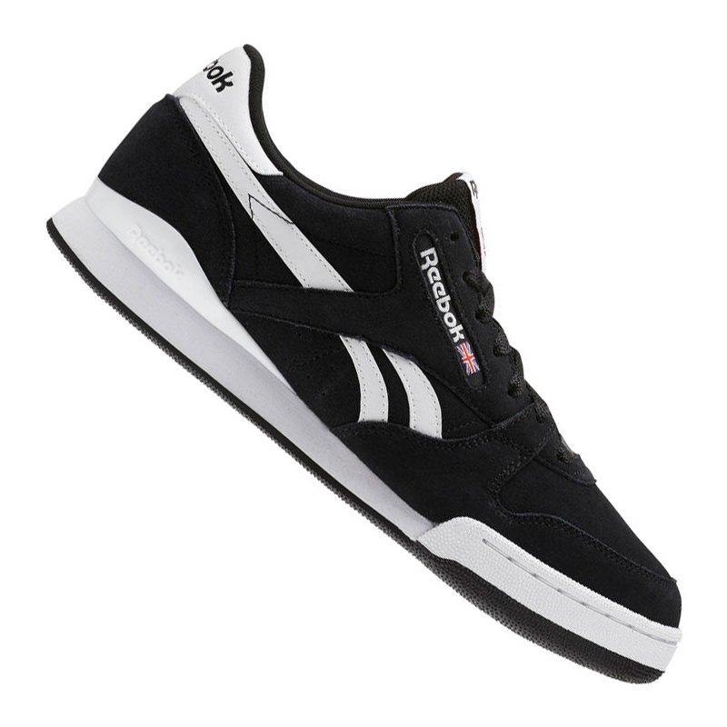best website 4b151 ebe29 Reebok Phase 1 Pro MU Sneaker Schwarz Weiss