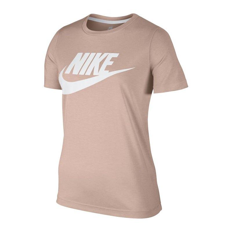 f437bab801e681 Nike Essential Tee T-Shirt Damen Rosa F838 - rosa