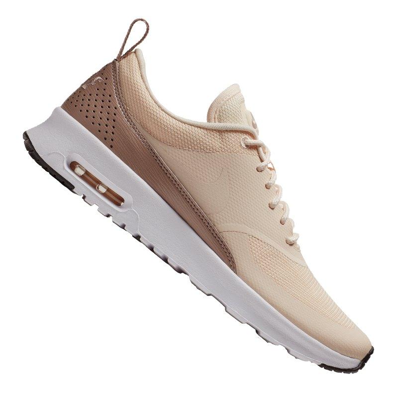 sports shoes 2daa1 4dcf2 Nike Air Max Thea Sneaker Damen Braun Weiss F804   Lifestyle ...