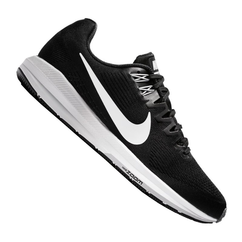 huge selection of 698cb 1294e Nike Air Zoom Structure 21 Running Schwarz F001 - schwarz