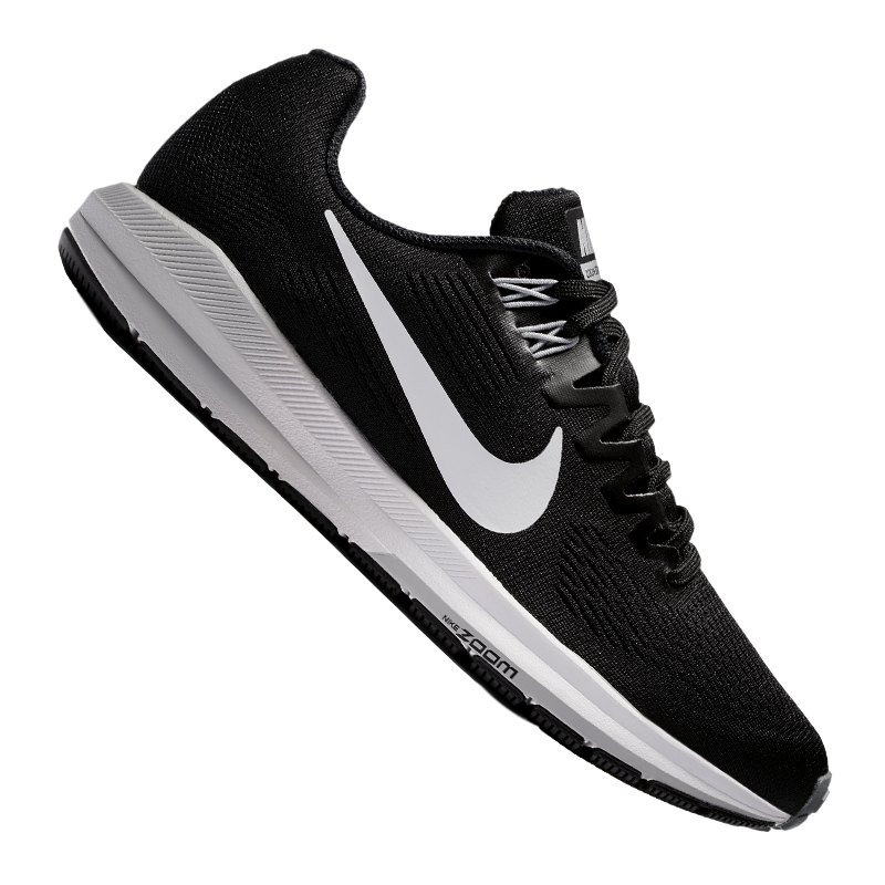 on sale 936b2 8aa63 Nike Air Zoom Structure 21 Running Damen F001 - schwarz