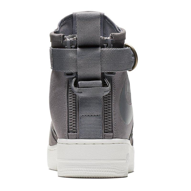 nike sf air force 1 mid sneaker grau f007 strassenschuhe. Black Bedroom Furniture Sets. Home Design Ideas