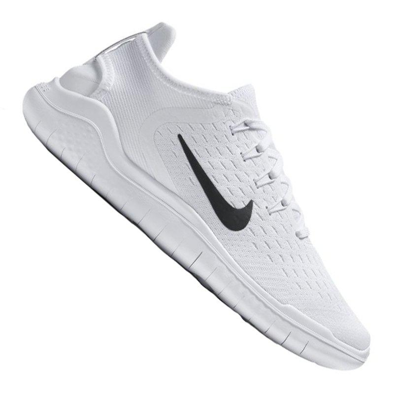 best loved 6d8ab 3e4d6 Nike Free RN 2018 Running Damen Weiss Schwarz F100 - weiss