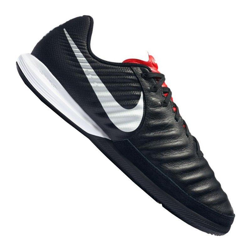 Nike Tiempo LegendX VII Pro IC Schwarz F006 - schwarz