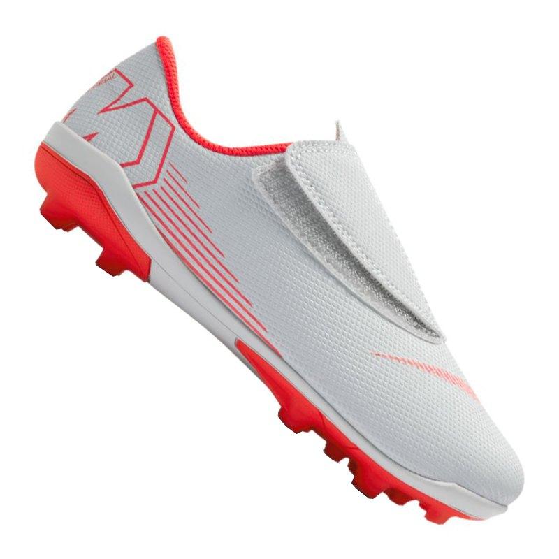 a48a547cc Nike Mercurial Vapor XII Club MG Kids Grau F060 - grau