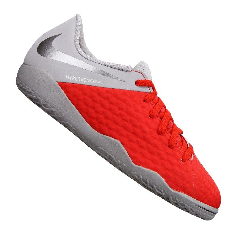 e237f8f3e92 Nike Hypervenom PhantomX III Academy IC Kids F600 - rot