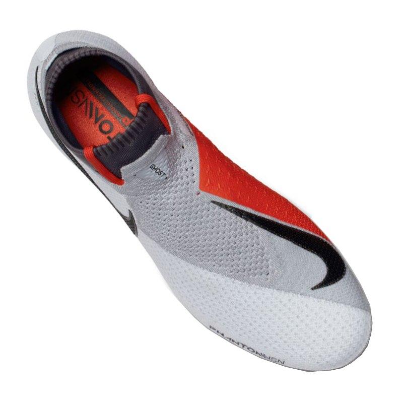 83da8f1b1 ... Nike Hypervenom Phantom VSN Elite DF FG F060 - silber ...