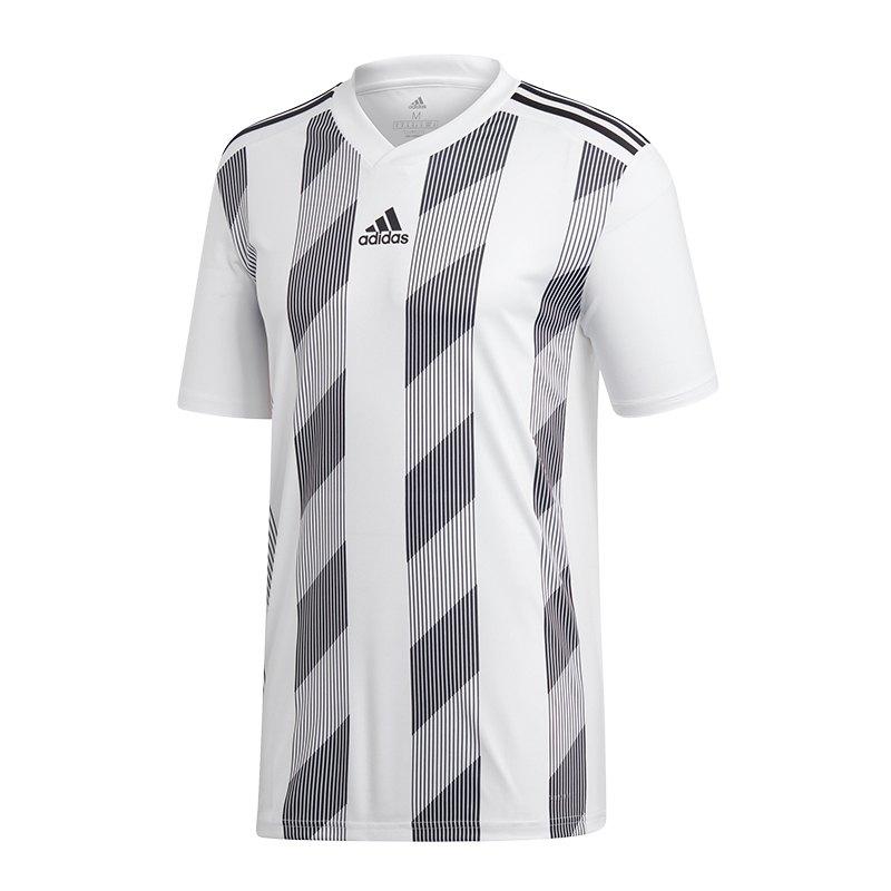 adidas Striped 19 Trikot kurzarm | weiss schwarz - weiss