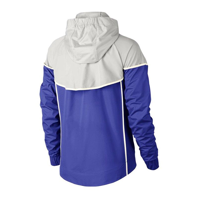 nike windrunner jacket jacke damen blau grau f518 blau. Black Bedroom Furniture Sets. Home Design Ideas