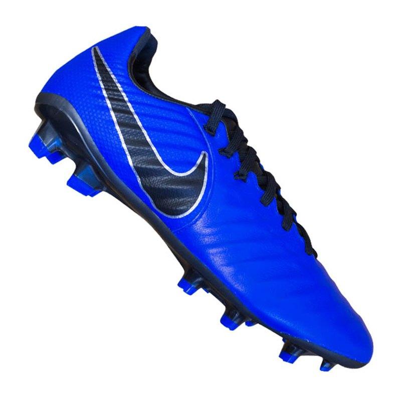 big sale d64ef aee09 Nike Tiempo Legend VII Elite FG Kids Blau F400