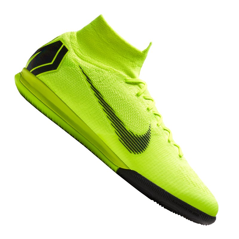 Nike Mercurial SuperflyX VI Elite IC Gelb F701 - gelb