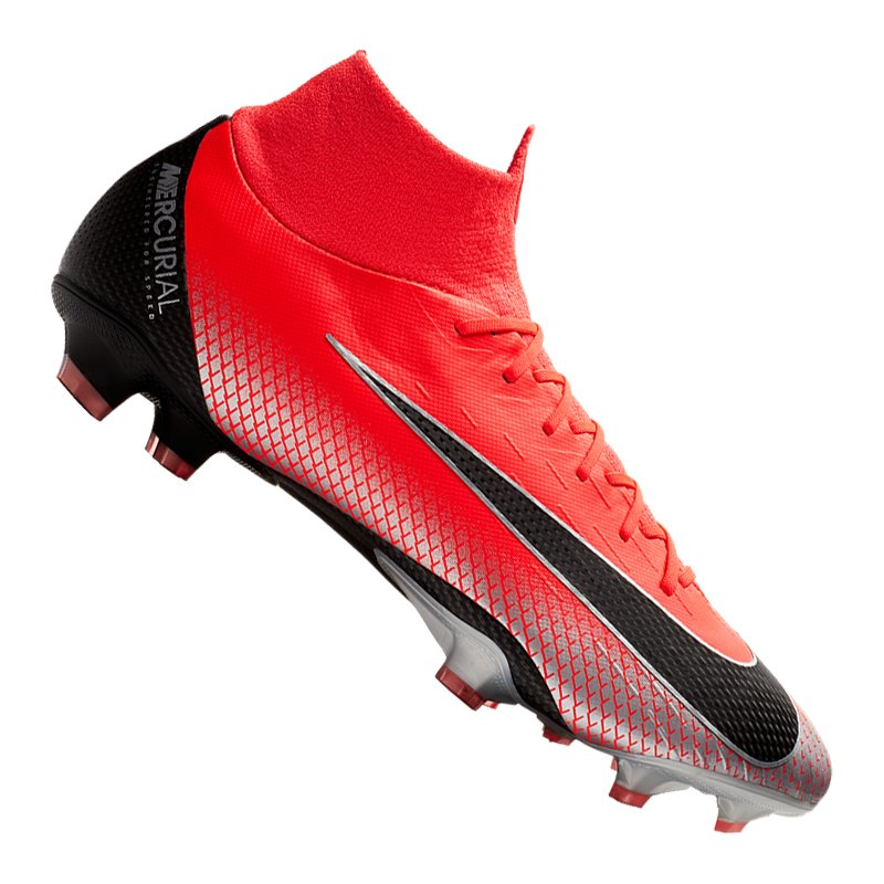 Nike Mercurial Superfly VI Pro CR7 FG Rot F600 - rot
