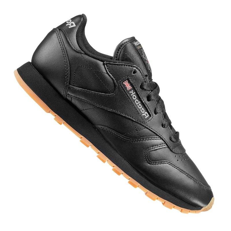 separation shoes 50ee8 70e66 Reebok Classic Leather Sneaker Damen Schwarz