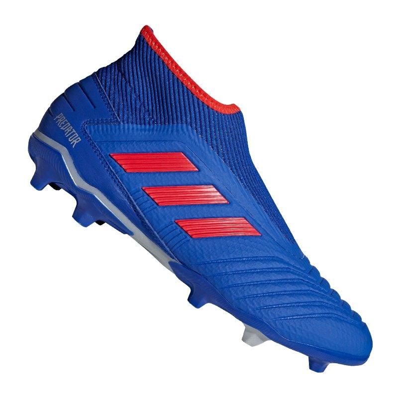 adidas Predator 19.3 FG Blau - blau